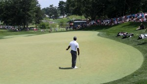 Tiger Woods Takes a Weekend Seat at Congressional, Four Players a top Leaderboard at Quicken Loans National
