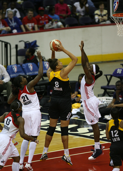 Mystics Win First at Home, Run Over Shock, 83-63