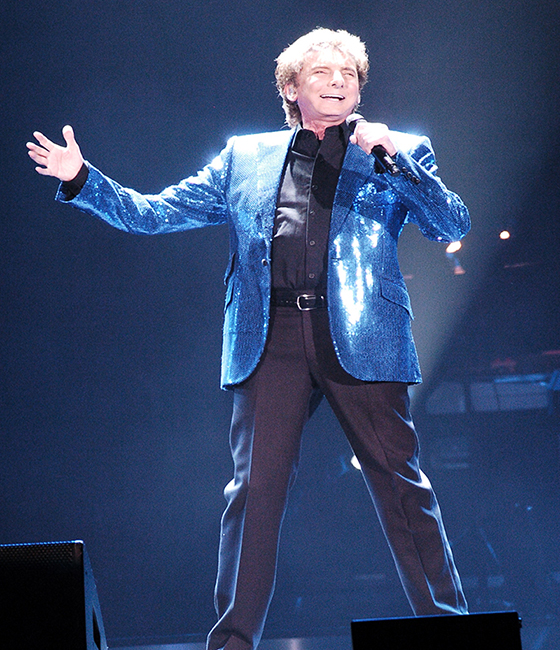 Manilow On Broadway Tour Comes To 1st Mariner Arena Baltimore, Maryland