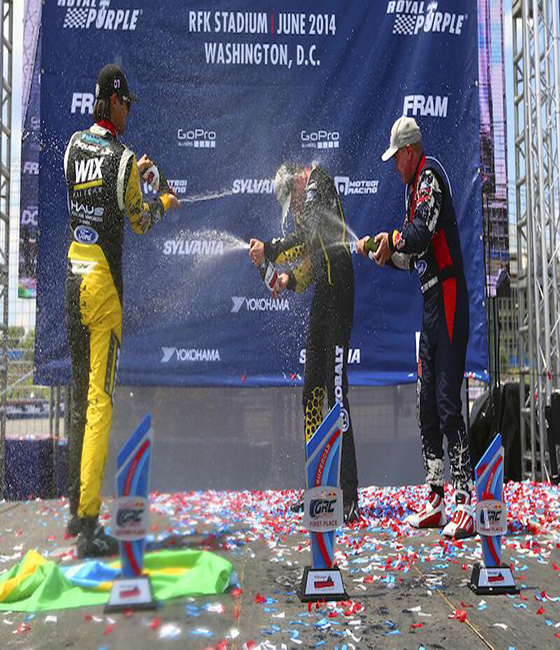 Red Bull GRC Patrik Sandell win in DC, Nelson Piquet Jr takes second place.