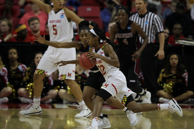Maryland Womens Hoops Moves on With 75-57 Win Over New Mexico State
