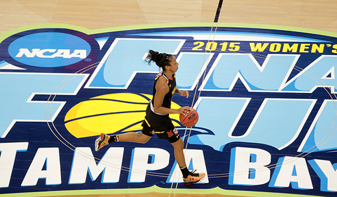 Lady Terps Can't Get It Done Again in Final Four, UCONN Rolls, 81-58