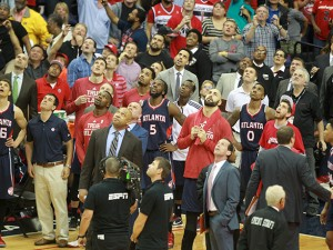 wizards atl game 6 entire team looks up 1