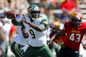USF had problems at quarterback late in the Fourth Quarter helping the Terps to a 35-17 victory.