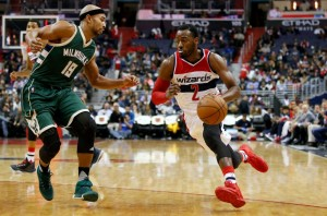 wizards john wall drives on bucks 1