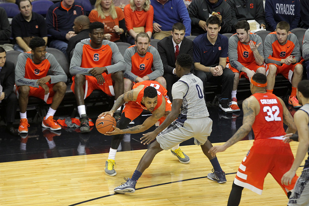 Hoyas Renew Rivalry Match-Up With Victory Over Syracuse, 79-72