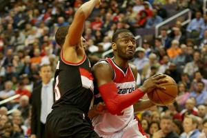 Wizards John Wall Struggled to Find Ways to Score Today in a 108-98 loss to the Blazers