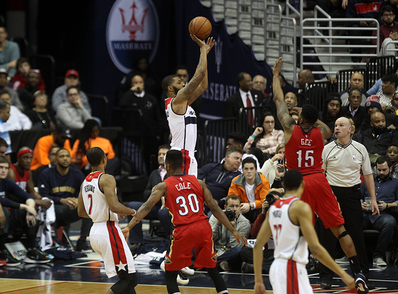 Wizards and Wall Knock of Pelicans, 109-89