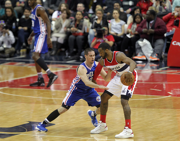 Wall and Wizards Take Down Sixers, 106-94