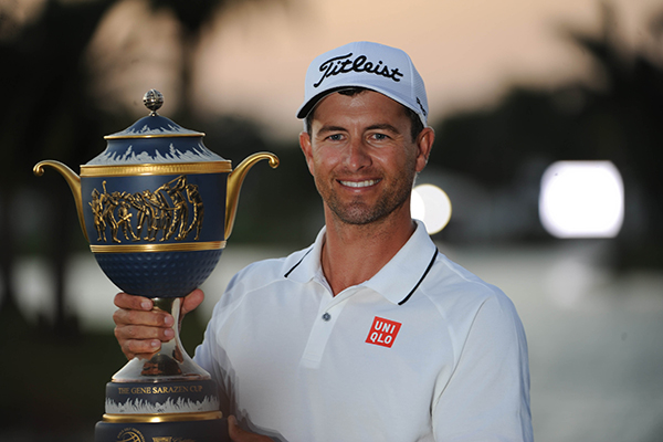Adam Scott Captures Cadillac Championship at Doral For Back to Back Victories
