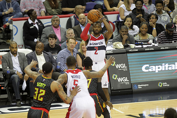 Wizards Can't Grab Back to Back Victories From Hawks, Still Stay in Playoff Hunt