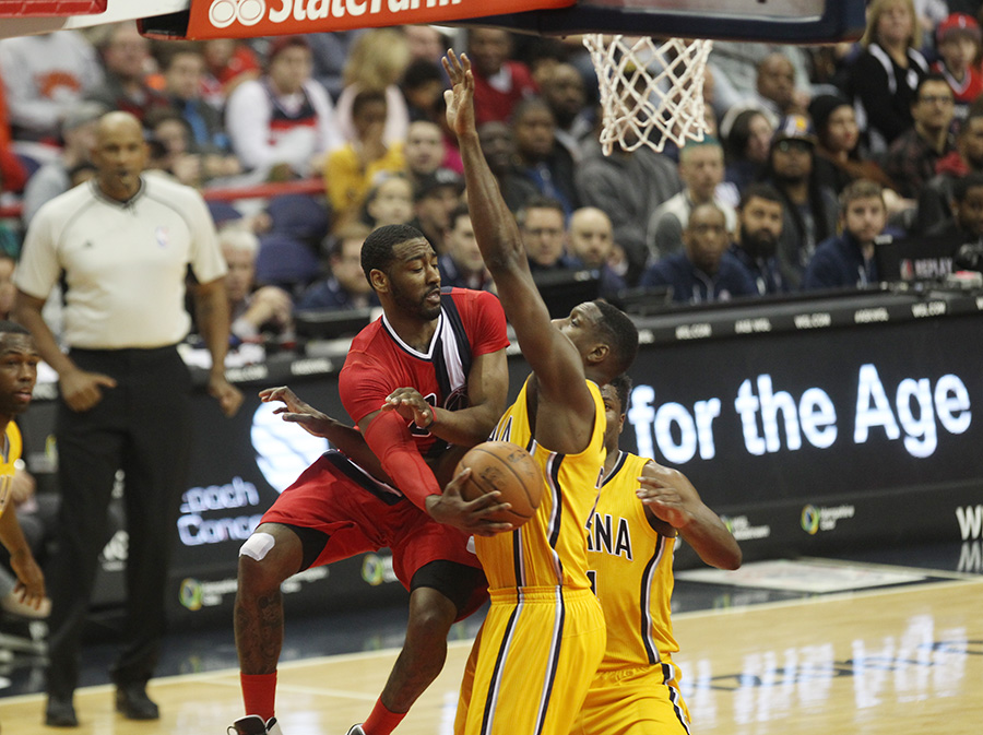 Wizards Fall Short in Final Seconds to Pacers, 109-99, Slip in Playoff Push