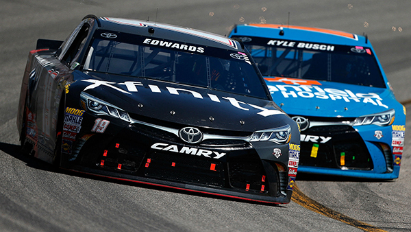 Carl Edwards Continues Dominance for JGR With Richmond Victory