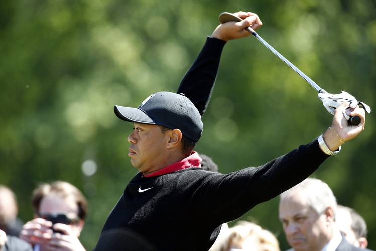 Tiger Woods Golf Demonstration, Does Not Go as Planned