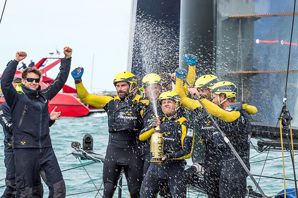 Artemis Wins America's Cup World Series Chicago Race