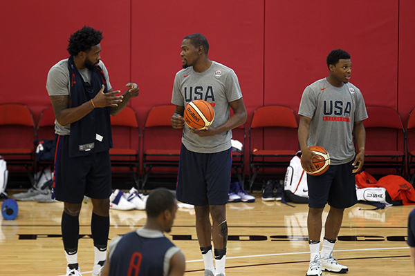 USA Basketball Ready to Show Their Ready for Gold in Rio