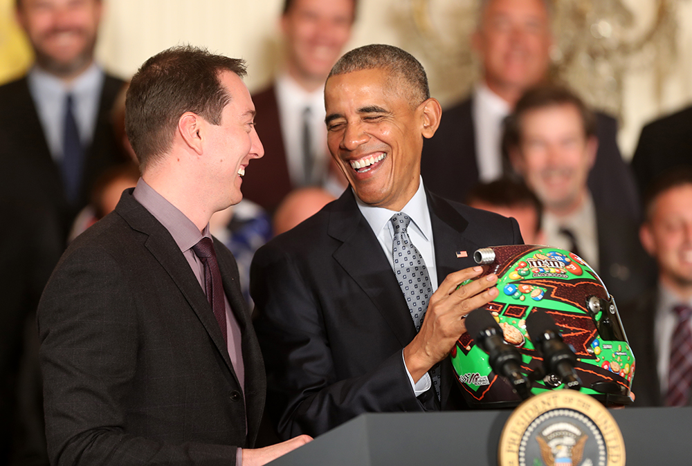 President Obama Honors 2015 NASCAR Champ Kyle Busch