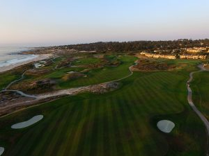 An Aerial Photo Shows the Amazing Views that Spanish Bay Offers its Golfers