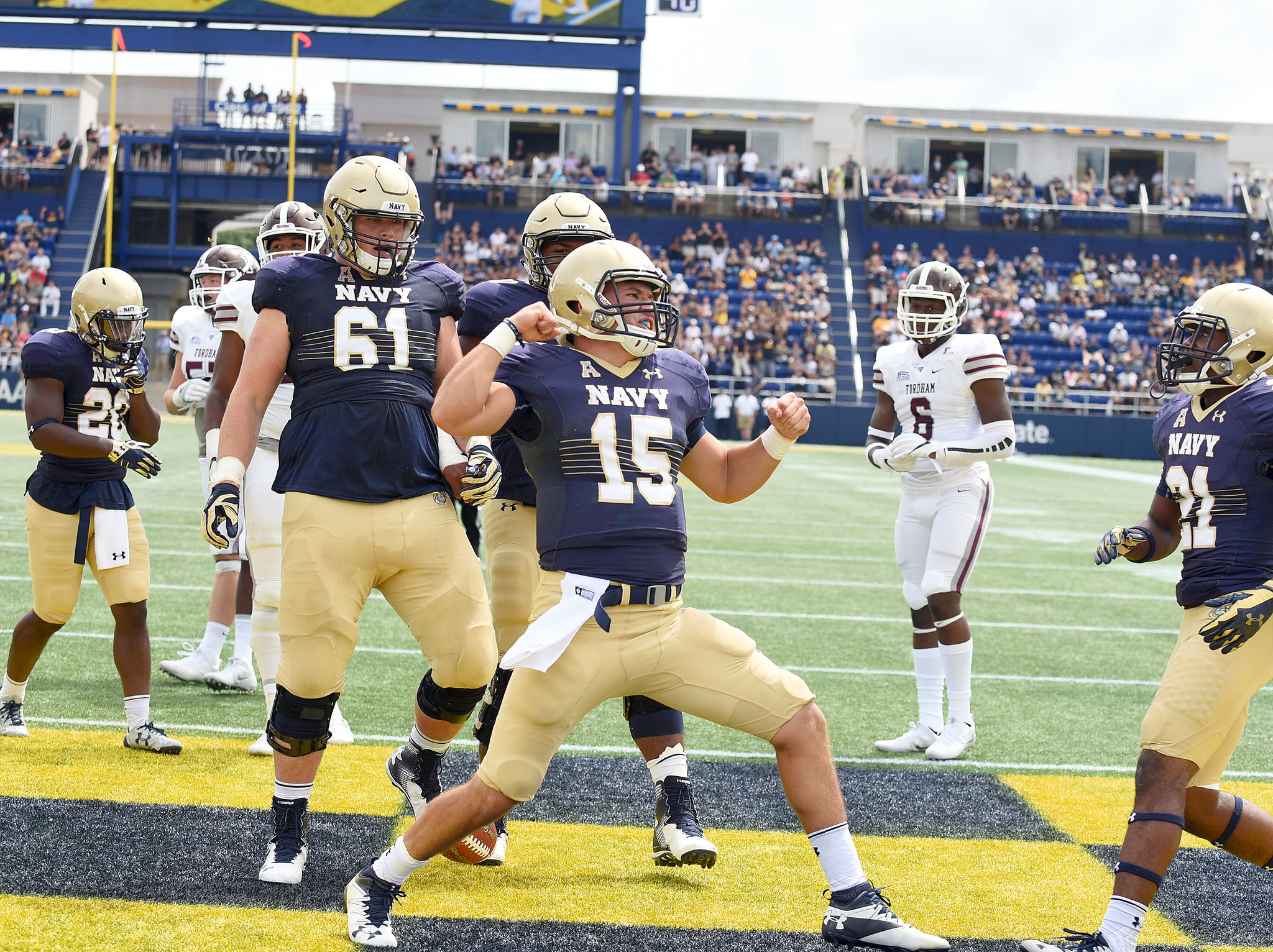 NAVY outlasts Tulane, 21-14, Worth Scores Winning Touchdown.