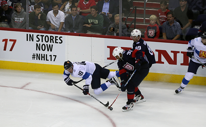 USA Hockey Defeats Finland, 3-2 in Final World Cup of Hockey Tune-Up