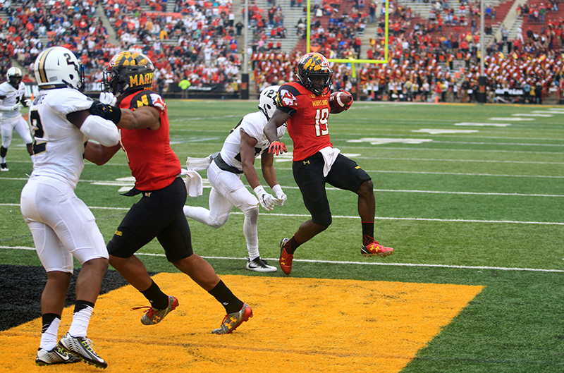 Terps Making Some Noise With 50-7 Victory Over Purdue