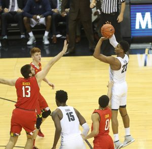 The Hoyas could not hold a 7 Point Lead and Dropped to the Terps, 76-75 at the buzzer.