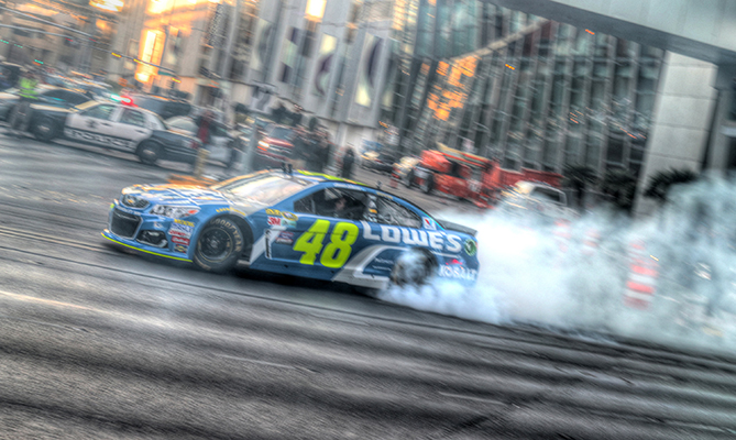 NASCAR Champions Week Continues in Vegas With Jimmie Johnson Leading the Way in Celebrations