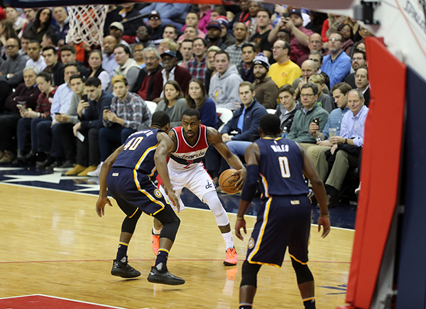 Wizards Grab Another Victory Behind Late Game Heroics from Wall and Porter, 111-105 Over Pacers