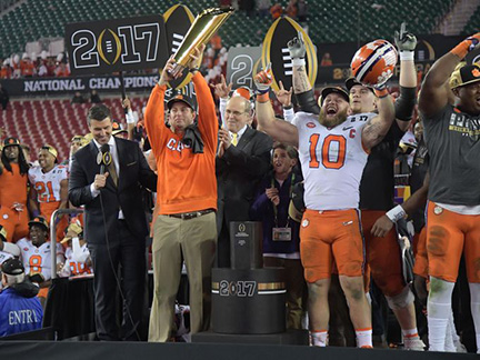 One of the Best National Championships Goes to Clemson