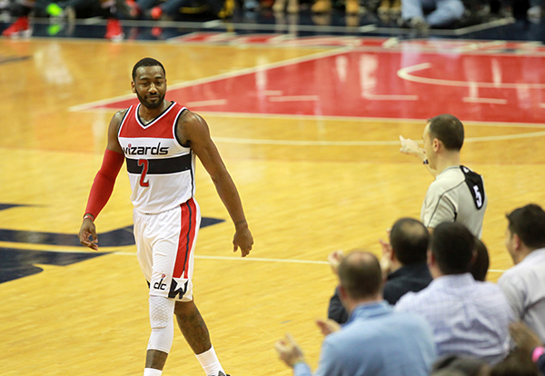 Wall Does it Again, Wizards Win 10th Straight at Home, 101-99 Over Bulls