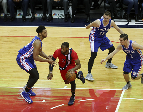 Wizards Good Fortune Continues at Home, Defeat Sixers, 109-93