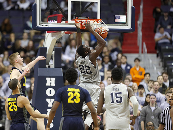 Hoyas Get Another Solid Win Over Marquette, 80-62