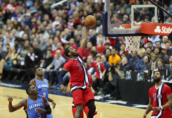 Wizards Continue Strong at Home, Dominate Thunder, 120-98