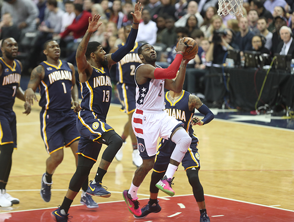Wizards Continue With Their Winning Ways, Defeat Pacers, 112-107
