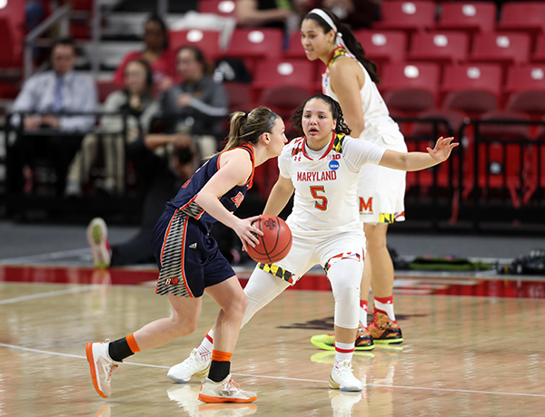 Maryland Women Advance With First Round NCAA Blowout of Bucknell, 103-61