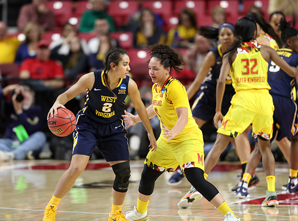 Terp Women Move On to Sweet Sixteen, With 83-56, Victory over West Virginia