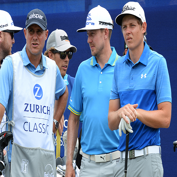 Teammates Jonas Blixt Cameron Smith tandem widens lead at windy Zurich Classic