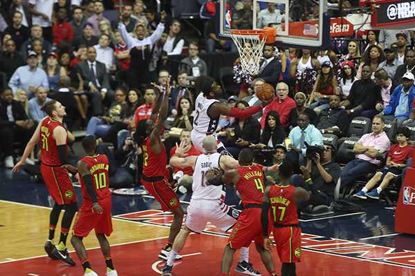 Wizards Take Game 5, 103-99, Series Heads to Atlanta Friday