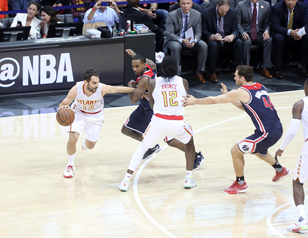 Wizards Come Up Short Again In Atlanta, Hawks Even Series 2-2