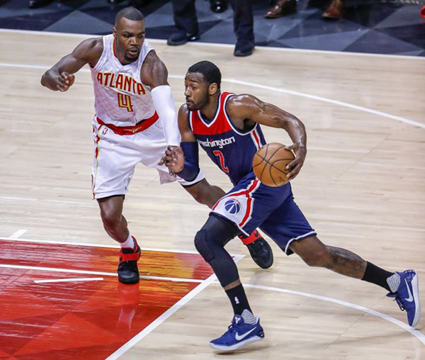 Wizards Reign Supreme in Game 6, Advance to Round 2 With 115-99 Victory Over Hawks