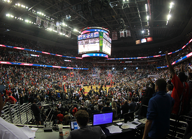 Wizards Drop Hawks, Lead Playoff Series, 2-0