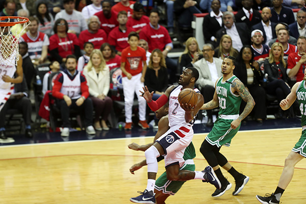 Wizards Take Game 4, 121-102, Series Heads Back to Boston For Game 5