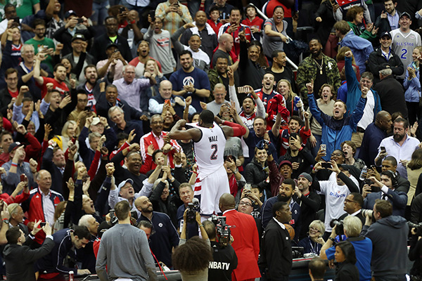 Wizards Get it Done Wall's Way in Game 6, Keep Series Alive With, 92-91 Victory