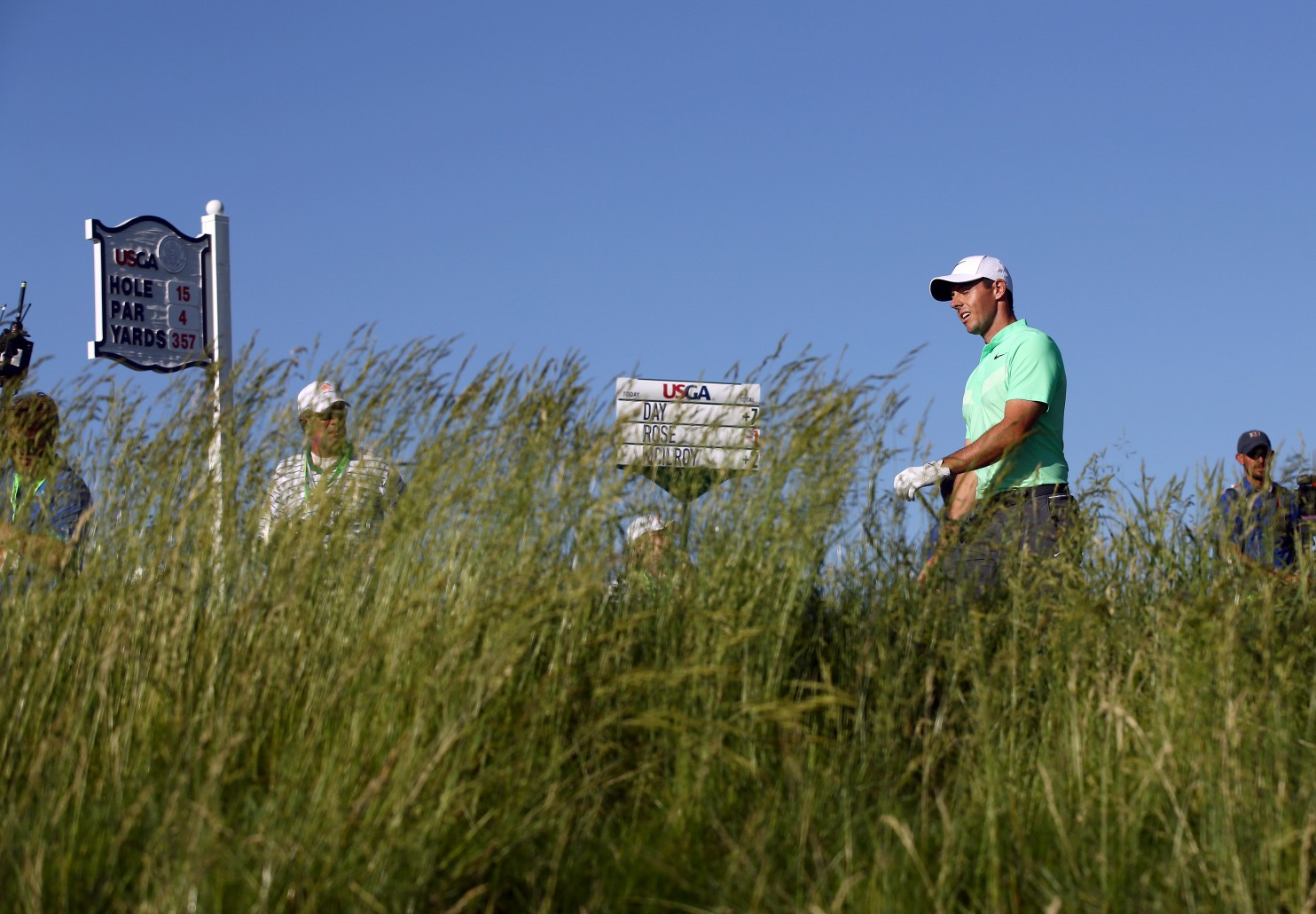 U.S. Open leader board has many names but not many big ones as McIlroy, Day and Johnson get the weekend off
