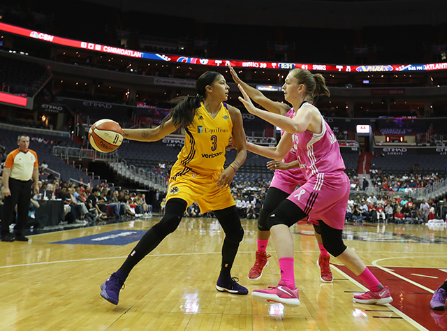 Mystics Continue to Struggle Without Delle Donne, Lose to Sparks, 95-62