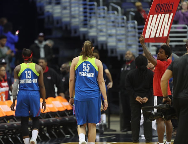 Mystics Advance to Round 2 Playoffs With Hard Fought Battle Over Dallas, 86-76