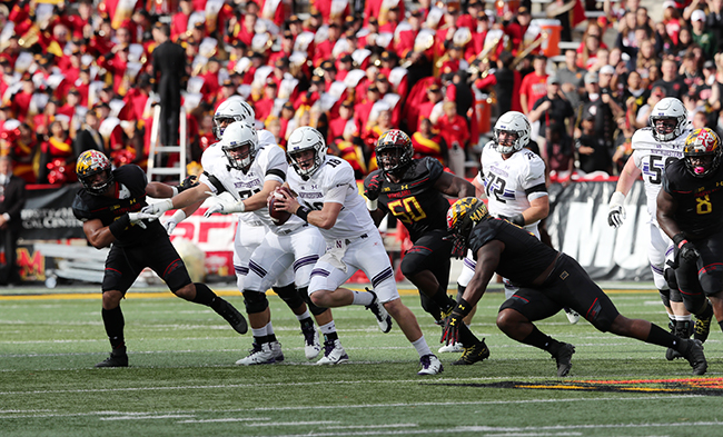 Terps Offense Struggles Again, Can't Find Answers for Northwestern in 37-21 Loss