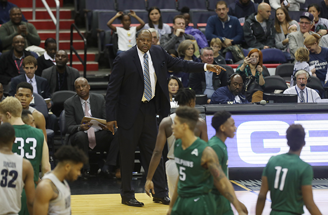 Hoyas Get First Victory in Ewing Era, Rolling over Jacksonville, 73-57