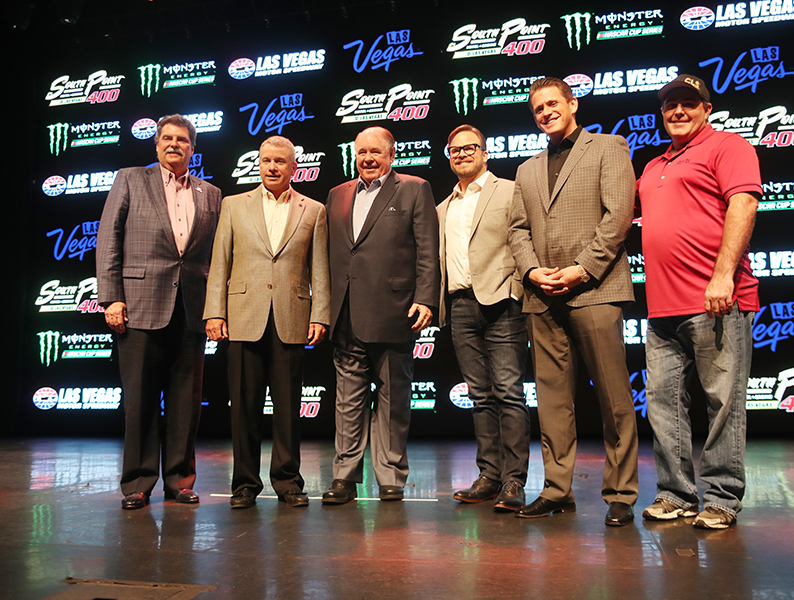 Las Vegas Motor Speedway Announces New Fall Race and Multi Year Sponsor Deal With South Point Casino