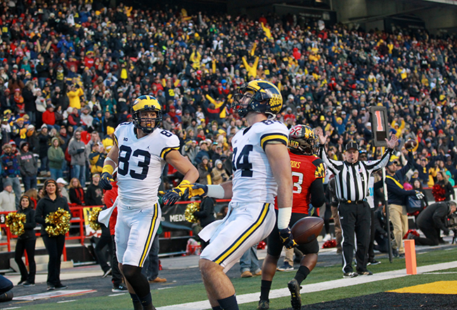 Terps Start Walk On Quarterback, Same Result, Another Loss to Michigan, 35-10